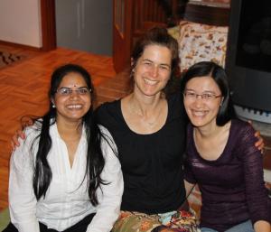 Hema Sirsa, PhD 2014 (left) and Ying Chen, PhD 2014 (right)
